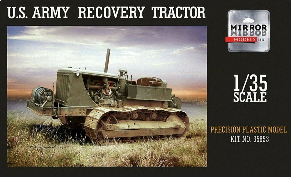 MIRROR MODELS 1 35 D7 US Army RECUPERO Trattore  35853