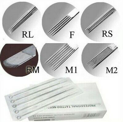 Health & Beauty Enthusiastic 50pcs Tattoo Disposable Needles 7rs 7m1 9f 9m1 9m2 9rl 9rm 9rs 1rl13f 5rl 9rs