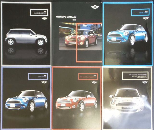 2007 Mini Cooper Owner Manual Handbook  Mini Cooper Owners