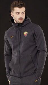 felpa As Tech Novità Pack Nike in pile con con in tag Giacca Xl Roma cappuccio Football 5xw7q0Cv