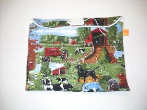 Breyer-pony-peter-stone-pebbles-pony-pouch-pocket-custom-model-horse-fabric
