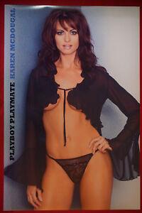 d4b65c5c7d1 Image is loading Playboy-Playmate-Karen-McDougal-Sexy-Lingerie-Model-Rare-