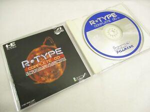 R-TYPE-Complete-CD-Item-Ref-bbc-PC-Engine-SCD-Grafx-Shooting-JAPAN-Game-pe