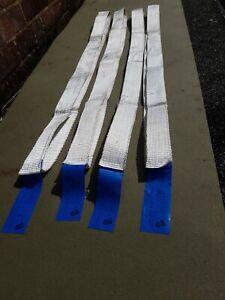4x1200Kg Endless Polyester Webbing LiftingRound Sling 1.85mtr