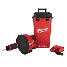 Milwaukee 2772a 21 M18 Fuel Drain Snake Drain Cleaner With Cable Drive Kit A