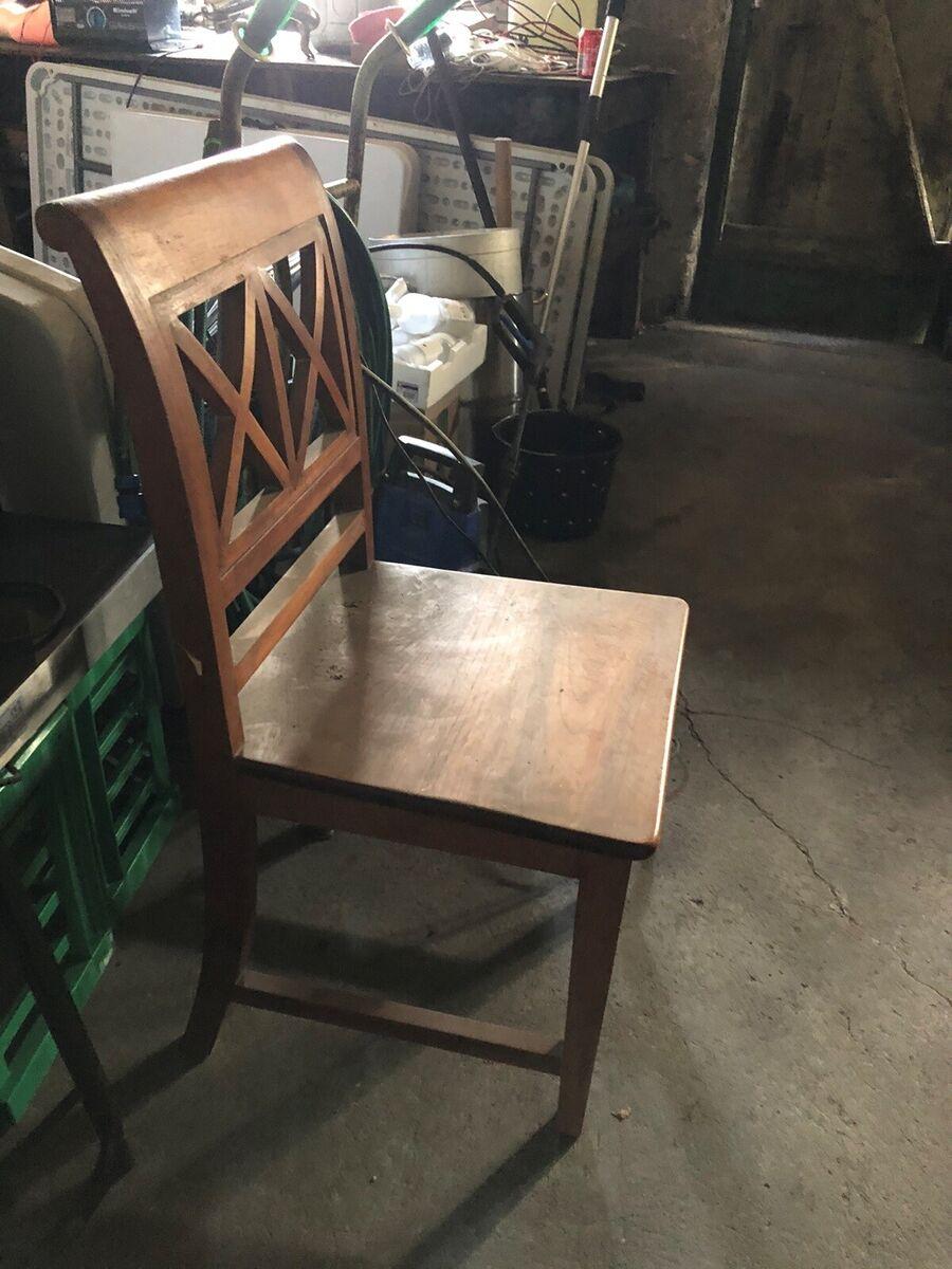 brugt stol med centrallås