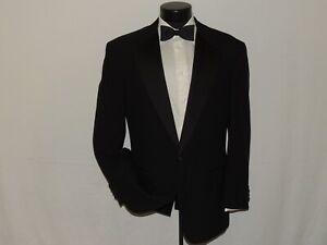 NORDSTROM-men-039-s-classic-1-button-formal-tuxedo-jacket-coat-42-R