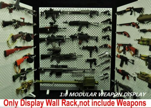 1//6 ABS Extensible Weapon Display Stand Model DIY Gun Toys Display Stent