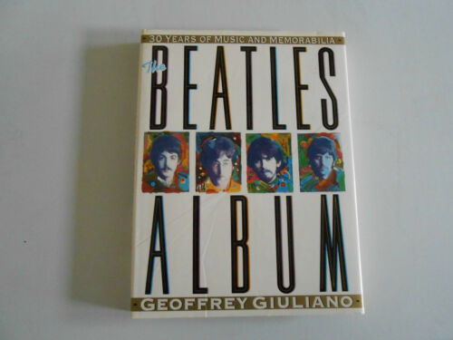 1 of 1 - Beatles Album 30 Years of Music & Memorabilia Softcover Geoffrey Giuliano lv rm