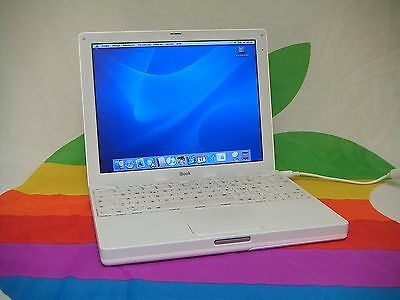 Apple iBook G3 - 12Zoll - OSX - TOP Funktion - Air Port - weiß -