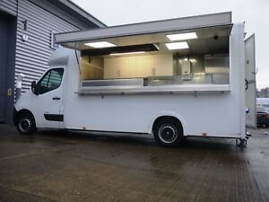 Image Is Loading AJC Van CONVERSION ONLY Burger Kebab Mobile Catering
