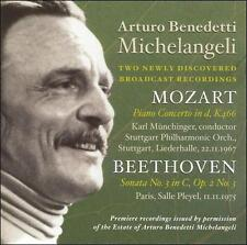 Arturo Benedetti Michelangeli plays Beethoven and Mozart, New Music