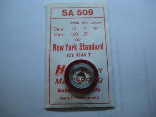 """New York Standard principal Primavera #4144//T-End//12s Blanco/"""" /""""de Aleación"""