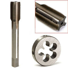 New 1/2-28 UNEF Hand Tap and Die Set HSS Right Hand Tapping Hand Cutting Tool ~~