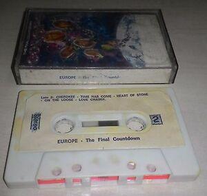 Europe-The-Final-Countdown-MC-Cassette-Tape-1986-cassetta-molto-vecchia-ma-ok