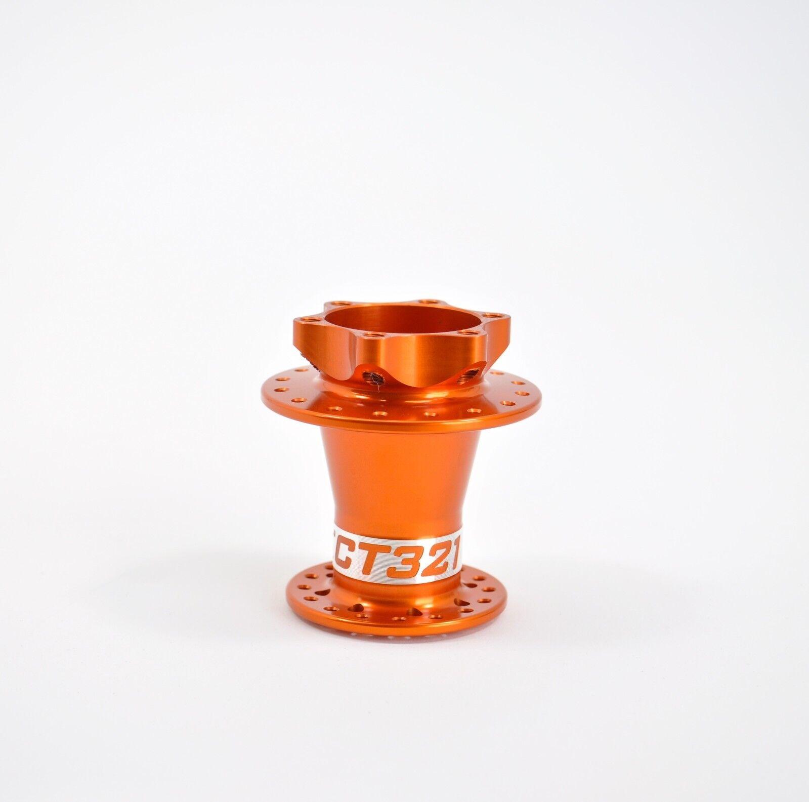Project321 2.0 Supermax orange 28H Front Hub