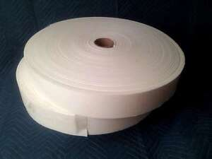 "1/4"" X 4"" X 150' Closed Cell Adhesive Sticky Back Peel & Stick Conscientious Foam Rolls 10"