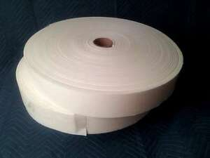"10 1/4"" X 4"" X 150' Closed Cell Adhesive Sticky Back Peel & Stick Foam Rolls Conscientious"