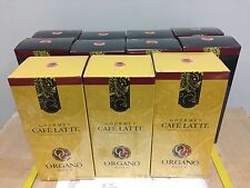 11 Boxes Organo Gold 8x BLACK COFFEE + 3x CAFE LATTE Ganoderma Lucidium!