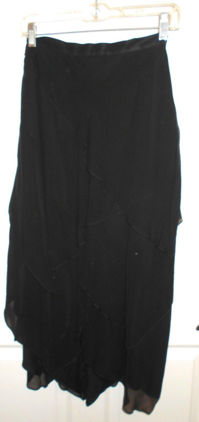 NWT St John Evening Silk kjol Sz 4