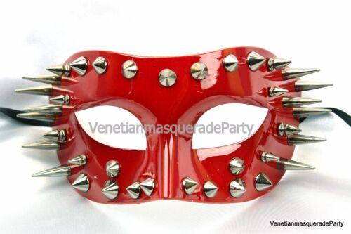Masquerade Ball Costume Spike Mask Graudation Birthday School Prom Dance Party