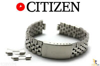 Citizen Original Ad5870-50h 18mm Stainless Steel Watch Band Strap Ad5990-91a
