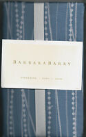 Barbara Barry Streaming - Fountain Blue & White Euro Sham