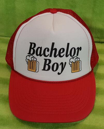 Bachelor Boy Beer Snap Back Mesh Netted Trucker Ca