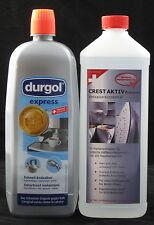 DURGOL® Express und Crest Aktiv Entkalker 2 x 1 Liter