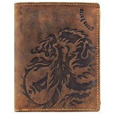 Greenburry Vintage D1796A-25 Leder Geldbörse Geldbeutel mit Münzfach