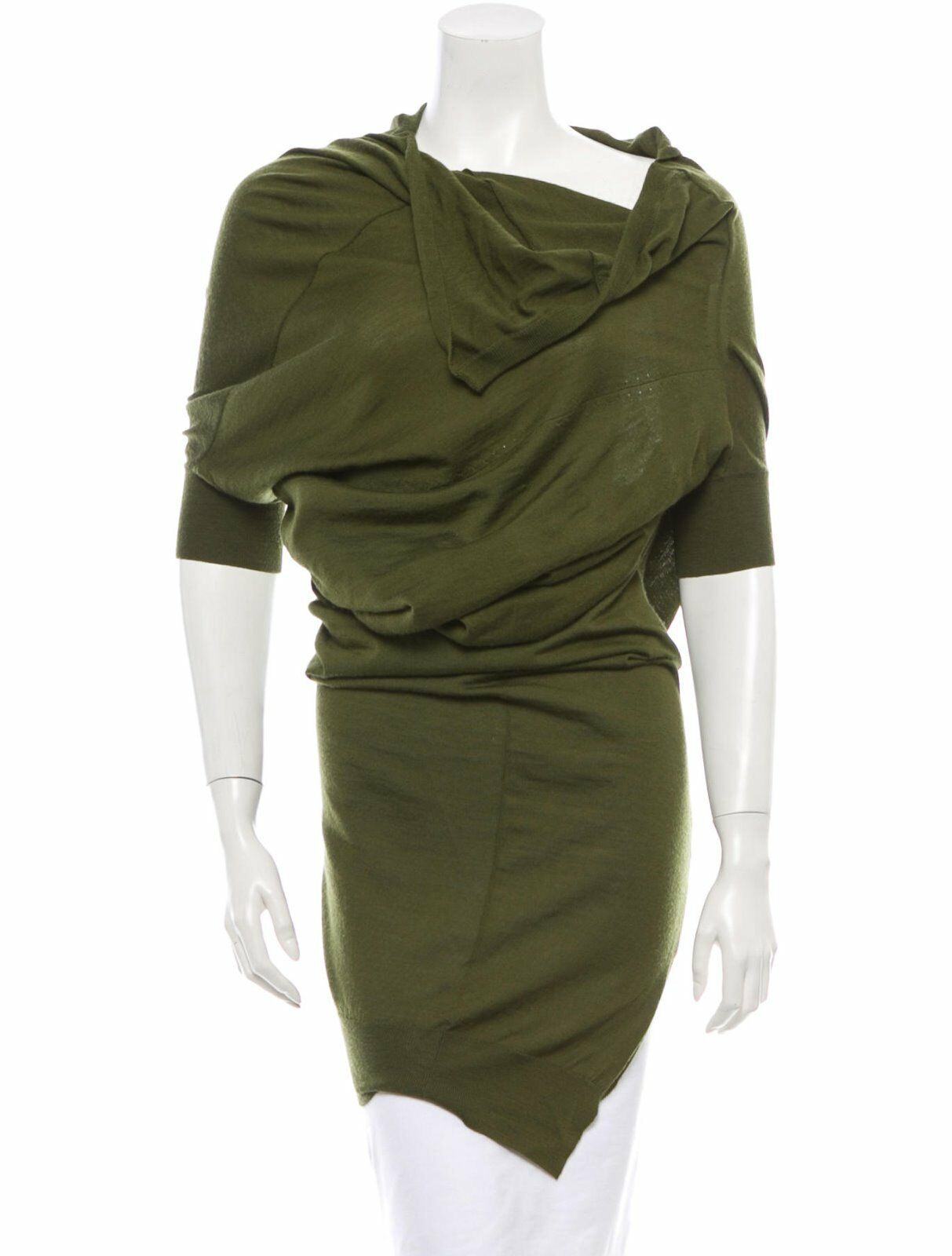 CRAZY COOL, SOLD OUT ,220 JUNYA WATANABLE ASYMMERICAL OLIVE TOP