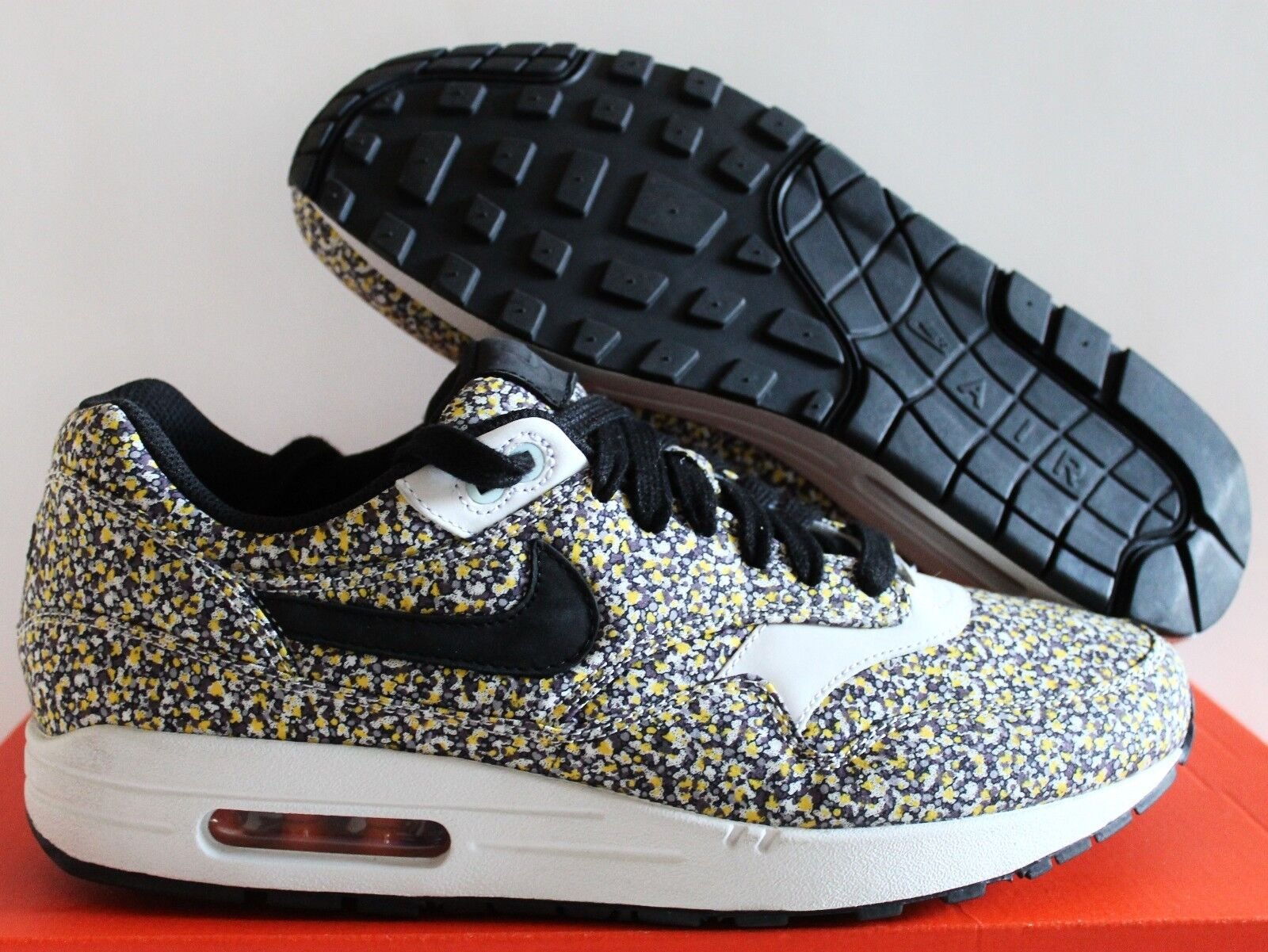 NIKE Hombres MAX AIR 1 Premium iD LIBERTY AIR MAX OF London [613780 991] 4a2387