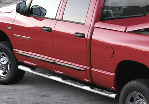 Dodge Ram Factory Running Boards >> Details About New Running Boards 02 09 Dodge Ram Chrome Side Oem Factory 82210060ad