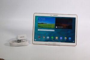 Samsung-Galaxy-Tab-S-SM-T805-16GB-Wi-fi-4G-Desbloqueado-10-5in-Blanco