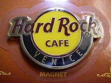 VENICE,Hard Rock Cafe,Round LOGO Magnet (not opener)