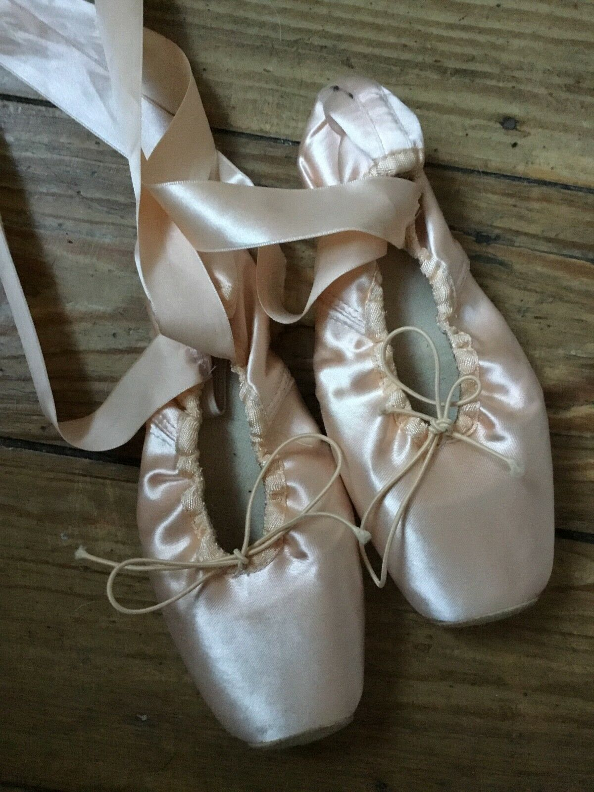 Spitzenschuhe Ballettschuhe Soft Soft Soft Amelie SO 102 Größe 5 1 2 - hand made 4b2425