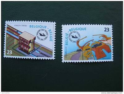 2019 Nieuwste Ontwerp Timbres Belges : Congrés De La Navigation 1985 **