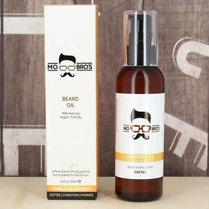 Beard-Oil-100ml-Stronger-Fuller-Thicker-Tamed-Beards-Vanilla-amp-Mango