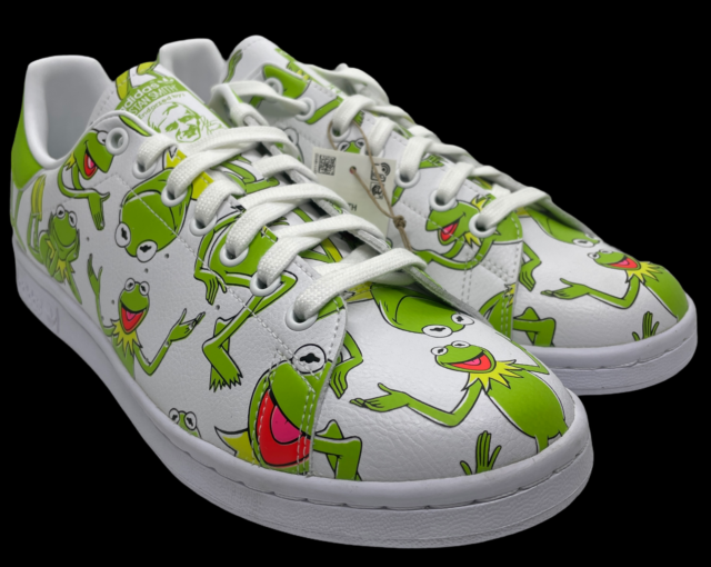 Size 10 - adidas Stan Smith x The Muppets Kermit The Frog