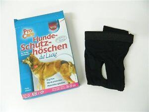 Culotte papier hygiénique de Luxe pour les chiens TRIXIE taille XS/0 S/1 Noire