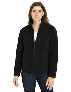 Essentials-Women-039-s-Polar-Fleece-Lined-Sherpa-Black-Size-XX-Large