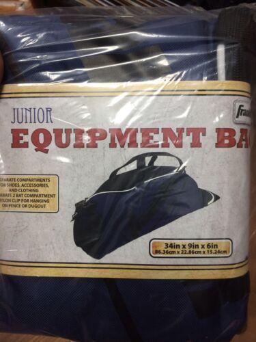 Franklin junior équipement//Chauve-Souris Sac de baseball//softball Bleu//Noir