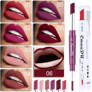 EE-FP-CmaaDu-Waterproof-Super-Stay-24-Hour-6-Color-2-in-1-Lipstick-Matte-Lip