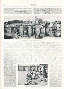 Vienne-L-039-Indre-L-039-Allier-1900-guide-orig-33-Photos-Chinon-Limoges-Loches-Thiers
