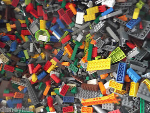 NEW-100-PIECES-LEGOS-FROM-SELECTED-HUGE-BULK-LOT-LEGO-BRICKS-PARTS-RANDOM-Mix