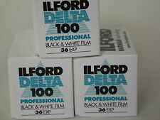 Ilford Delta 100 Pro 35mm 36 exp B+W Film (3 Pack)