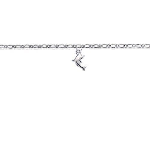 Magnifique chaine de cheville Argent /& DAUPHIN BIJOUTERIEJOLYBIJOUX