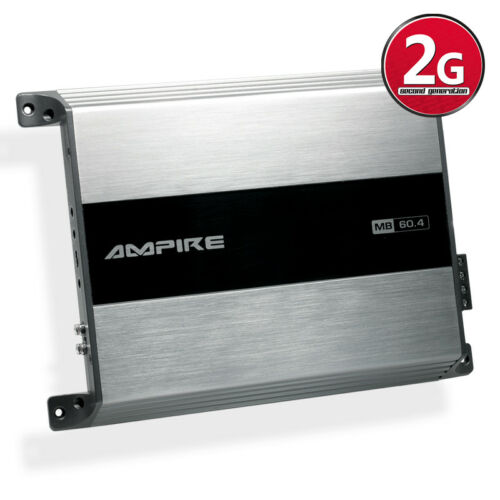 AMPIRE MB60.4-2G 4-Kanal Verstärker Endstufe 240W