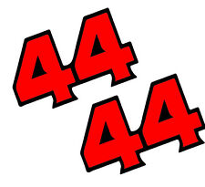 Lewis Hamilton 44 ADESIVI CASCO F1 Mercedes Formula 1