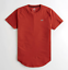 Hollister-homme-a-encolure-ras-du-cou-a-manches-courtes-Muscle-must-have-Courbe-Tee-Logo-T-Shirt miniature 37